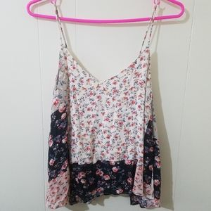 LUSH floral blouse Small